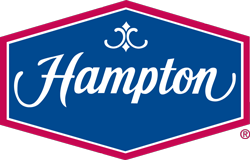 Logo for Hampton Inn Coralville