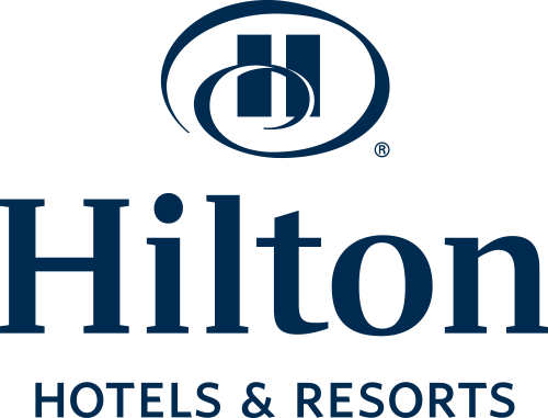 Logo for Hilton Checkers Los Angeles