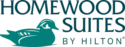Logo for Homewood Suites by Hilton Clearwater