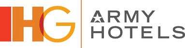 Logo for IHG Army Hotels Fort Riley