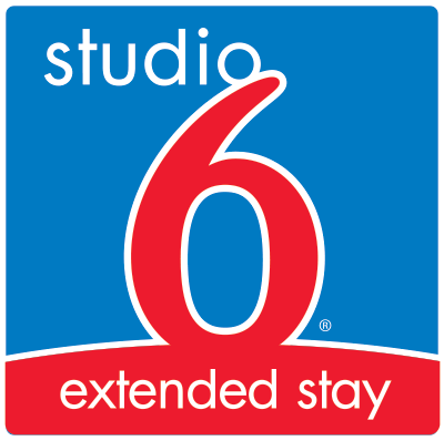 Logo for Studio 6 San Antonio - Six Flags