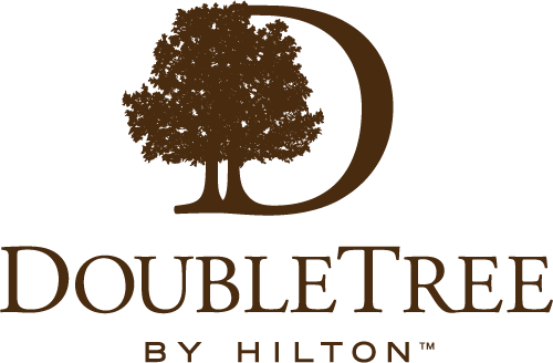 Logo for DoubleTree Resort by Hilton Hotel Entrance to Universal Orlando