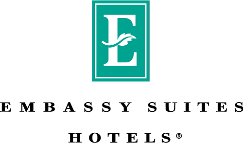 Logo for Embassy Suites by Hilton Santa Clara Silicon Valley