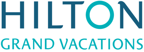 Logo for Hilton Grand Vacations Club on Paradise