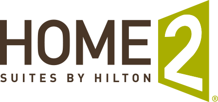 Logo for Home2 Suites by Hilton Indianapolis Downtown